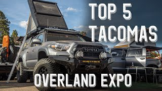 Top 5 Tacomas at Overland Expo West 2019 | Flagstaff Arizona