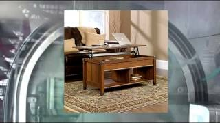 Lift Top Coffee Table - Washington Cherry Finish