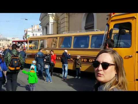 Третий Петербургский Парад Ретротранспорта