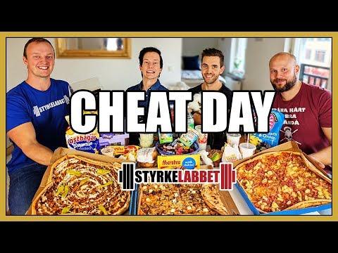 Sveriges STÖRSTA Cheat day!? Med Styrkelabbet