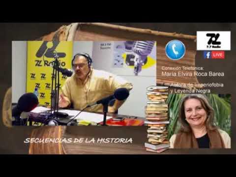 Jesús Villanueva . Secuencias de la Historia 11 octubre 2017, Elvira Roca en 7.7 Radio Canarias