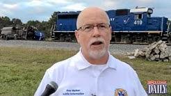 Brevard Fire Rescue Addresses Media On Rockledge Train Derailment