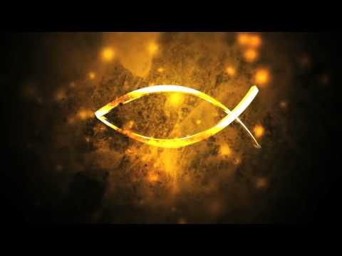 Jesus Fish Symbol Church Video Loop