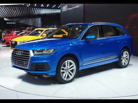 The Audi Q7 E Tron Quattro Sel Plug In Hybrid Model Was Official Unveiled Today At Geneva Motor Show