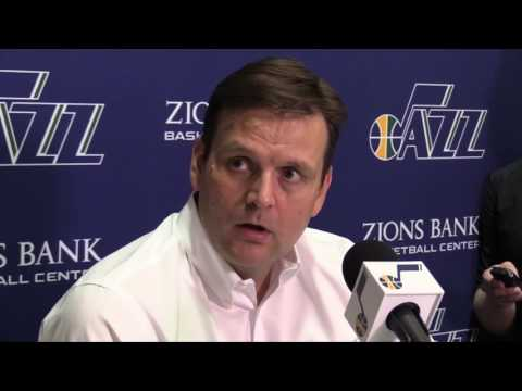 Dennis Lindsey discusses the Utah Jazz's 2017 NBA Draft class