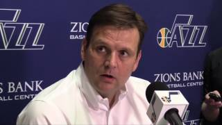 Dennis Lindsey discusses the Utah Jazz