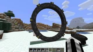 Minecraft моды - звездные врата, мод по сериалу