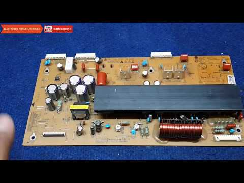 PLASMA LG QUE NO ENCIENDE SOLO LED DE STANDBY electronica nuñez tutoriales