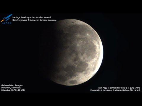 Pengamatan Gerhana Bulan Sebagian 17 Juli 2019 di BPAA Sumedang