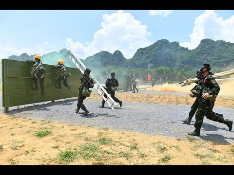 ARMY GAMES 2021 : Chung kết giữa ĐT Việt Nam và LB Nga ở môn thi Vùng tai nạn   Quán thể thao