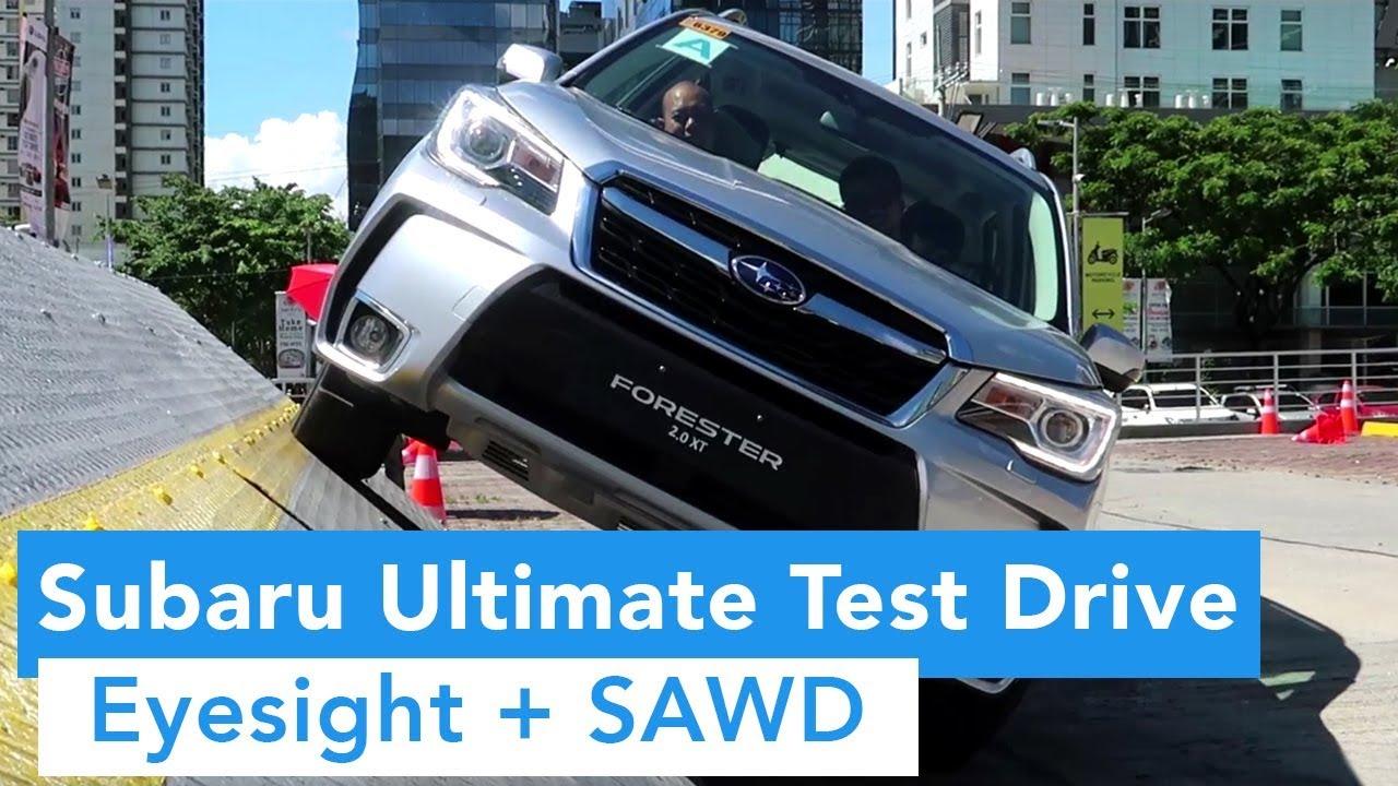 2018 Subaru Ultimate Test Drive (Eyesight and Symmetrical All-Wheel Drive)