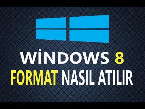 Windows 8 Format atma