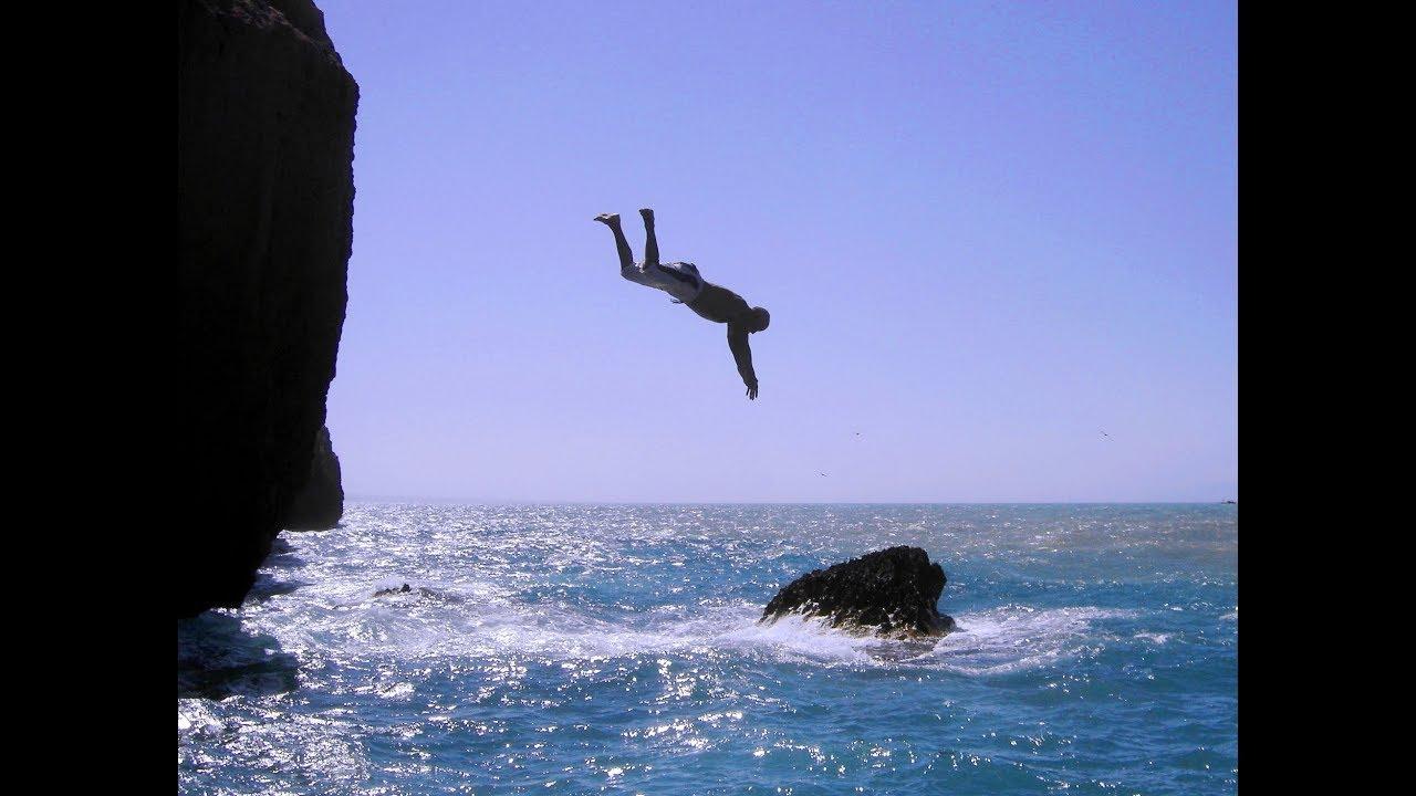 اخطاء القفز في الماء من المرتفعات الجزء الاول Youtube