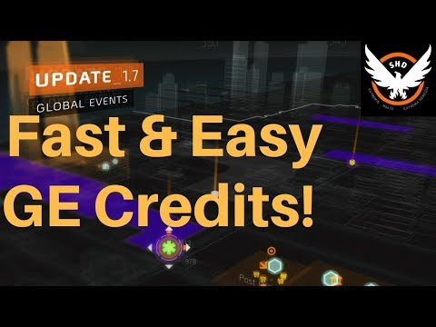 The Division - Fastest GE Credits Farming Method!
