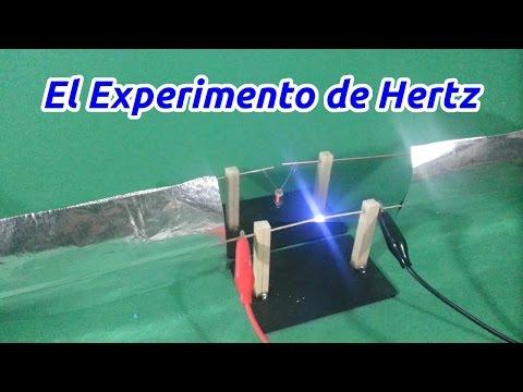El Experimento de Hertz : Ondas Electromagnéticas