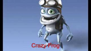 Sing along to crazy frog
