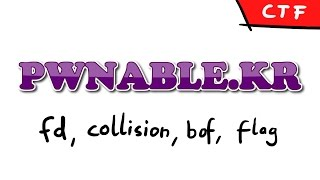 pwnable.kr - Levels: fd, collision, bof, flag