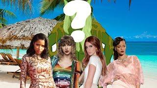 Pop Girls Go To The Beach w/ Lana Del Rey, Nicki Minaj, Rihanna & Taylor Swift