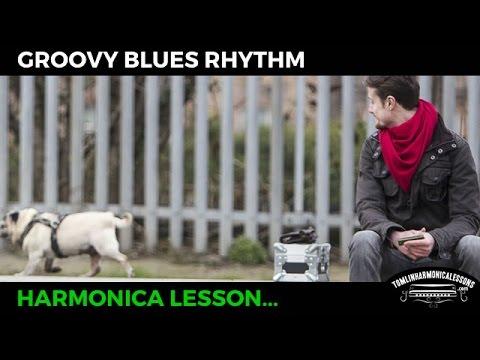 Harmonica Blues Groovy Rhythm - C Harmonica Lesson + Free harp tab