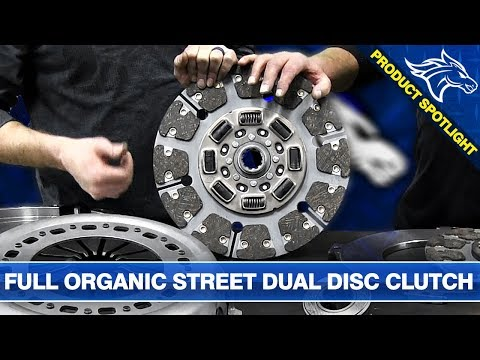 South Bend Full Organic Street Dual Disc Clutch Overview