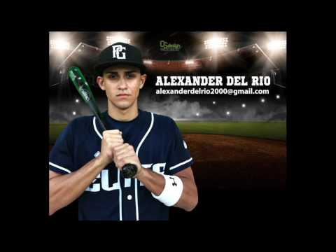 Alexander Del Rio Baseball Profile Video