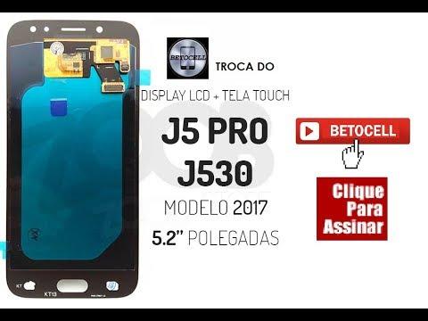 Troca Da Frontal Do J5 Pro - J530 (Original - Leia Descrição)