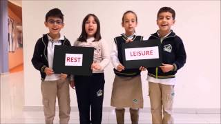 ATAEL College Students - Children's Rights Day - We Are The World