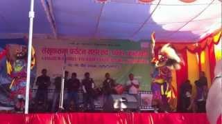 lakhe dance of khandbari by niranjan on shankhuwasabha festival..