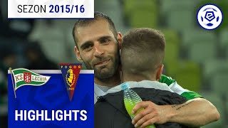 Lechia Gdańsk - Pogoń Szczecin 2:0 [skrót] sezon 2015/16 kolejka 32