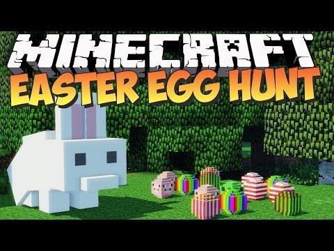 Minecraft: EASTER EGG HUNT! - Mod Showcase Adventure