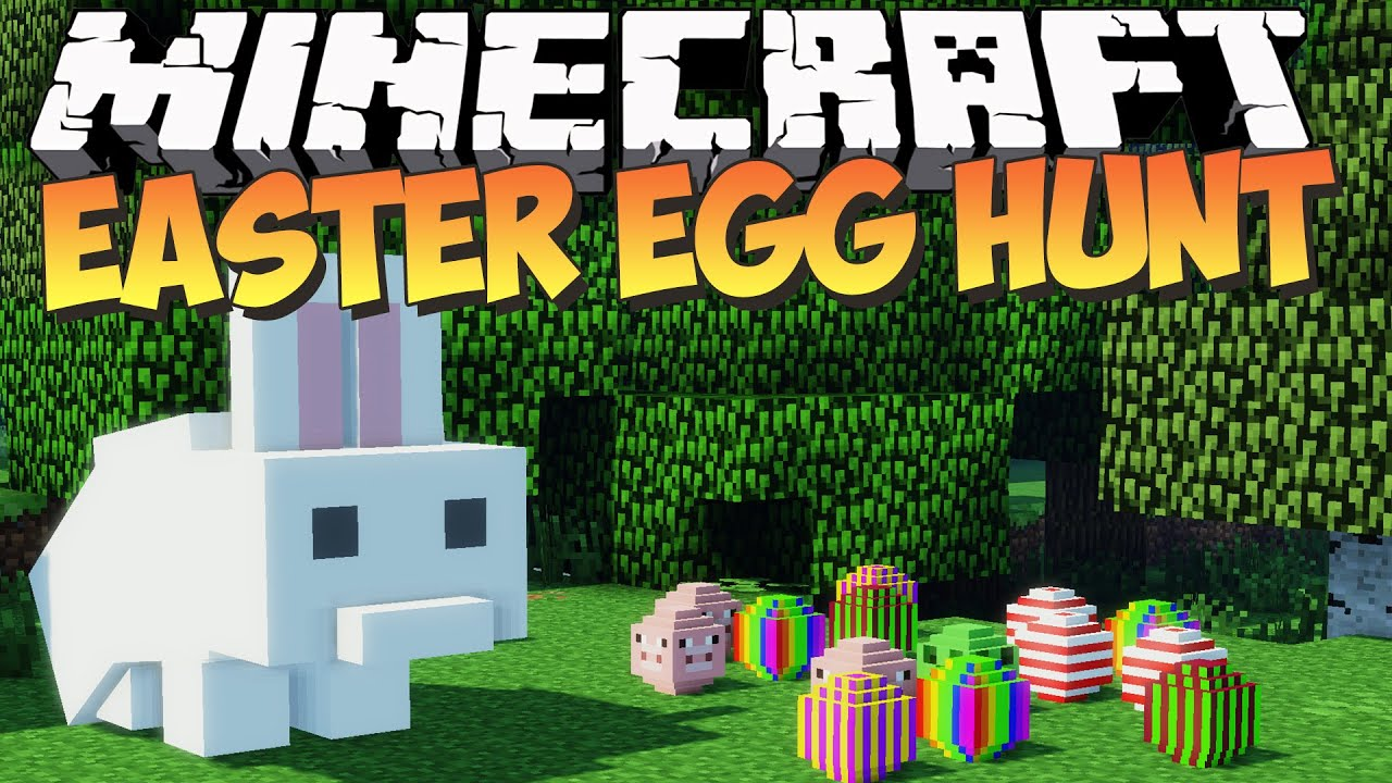 Minecraft Easter Egg Hunt Mod Showcase Adventure Youtube