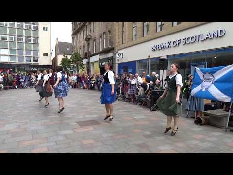 International Folk Dance Festival Perth Perthshire Scotland