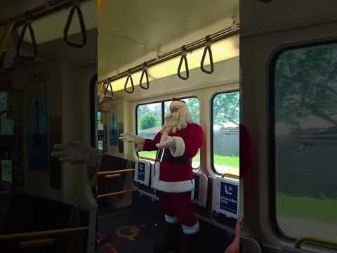 Santa Express - Queensland Rail, Brisbane Australia