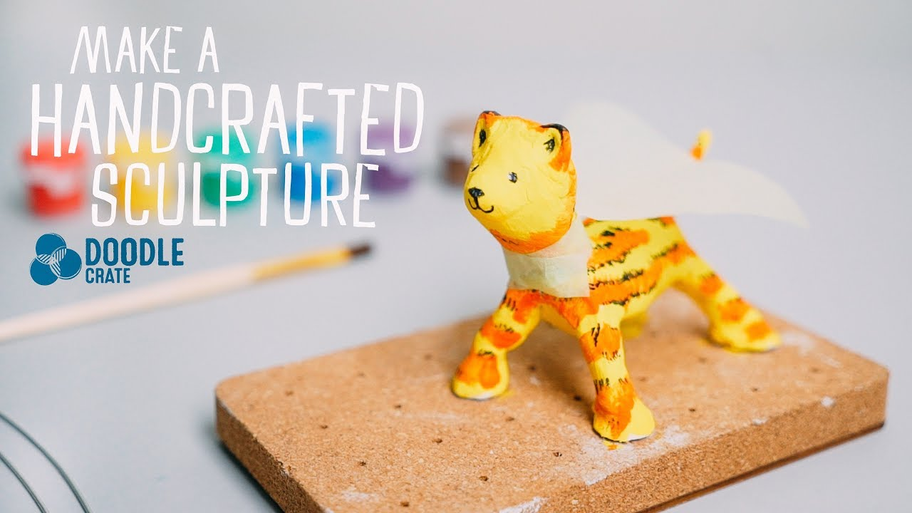 Handcrafted Sculpture Doodle Crate Project