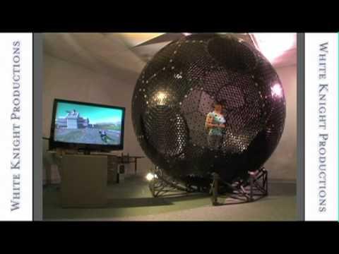 Virtusphere 3d Game Interface Youtube
