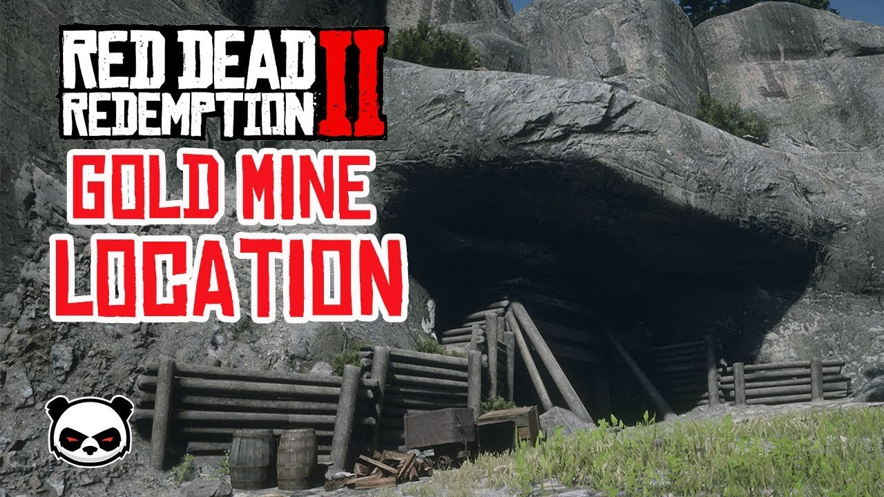 Red Dead Redemption 2 Abandoned Gold Mine Miners Hat Youtube