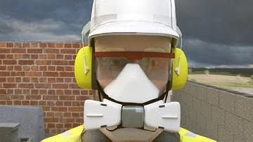 Safety around dust animation