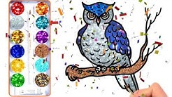 Burung Cara Menggambar Dan Mewarnai Burung Untuk Anak Anak