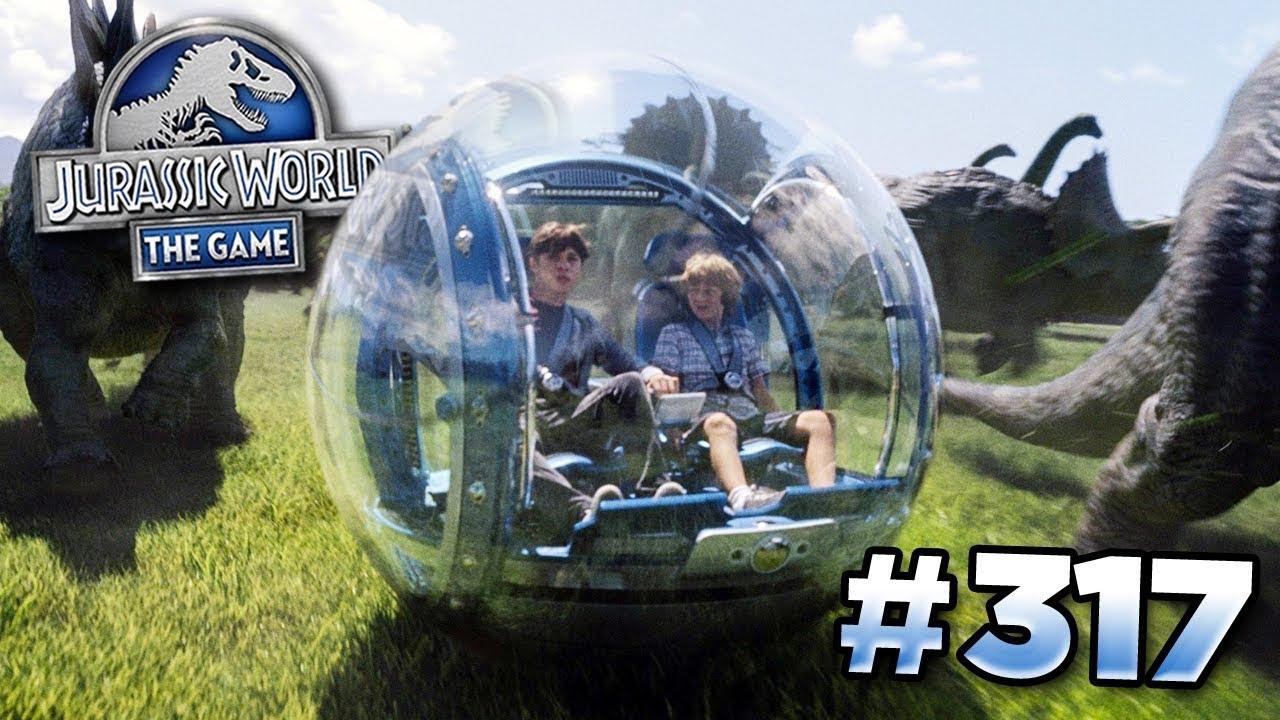 The Gyrosphere Draft Battle! || Jurassic World – The Game – Ep317 HD