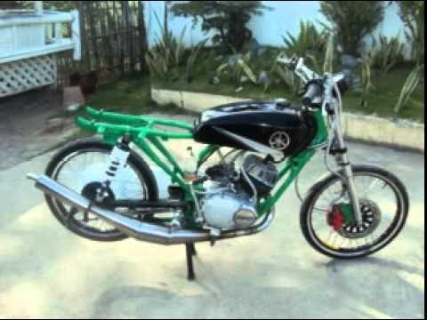 yamaha rs 100 by team 88 youtube. Black Bedroom Furniture Sets. Home Design Ideas