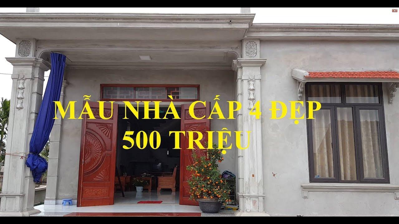 Thăm Quan Mẫu Nhà Cấp 4 Đẹp Diện Tích 10x12m – Gía 500 Triệu Tại Ninh Bình