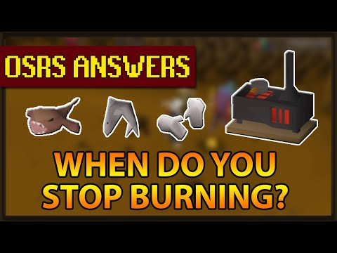 OSRS Answers | When Do You Stop Burning Food? (Sharks, Monkfish Etc)