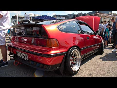 Honda CR-X (1988 г.в.) / Автострада 2019 г.Тула