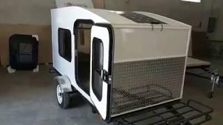 My Mini Trailer Mini Camper Walk Through and Q & A. Most affordable Mini Camper