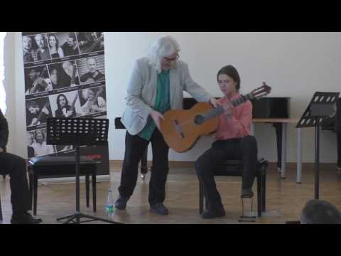 Stephen Goss: master class 2017, Moscow - Guitar Virtuosi festival [1/3]