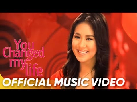 You Changed My Life In A Moment - Sarah Geronimo (Official Music Video)