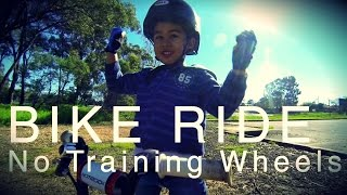 First Ride Without Training Wheels | GoPro Kids | Specialized Bikes