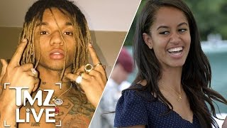 Rae Sremmurd's Swae Lee Really, Really Wants To Date Malia Obama | TMZ Live