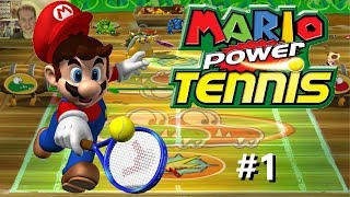 SMASHING GOOD FUN | Mario Power Tennis #1 | Gamecube Game