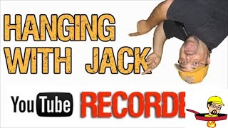 Hanging with Jack (recorded due to crummy internet service)